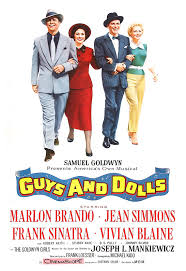 guys and dolls classic musical poster print