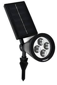 Best Solar Powered Outdoor Lights Hoont Bright Outdoor Led Solar Spotlight