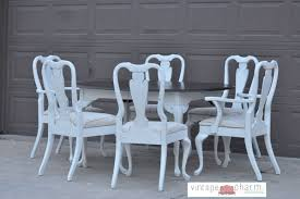 Shabby Chic Dining Table Set Shabby Chic White Dining Table And Chairs