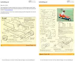 Blueprints To Build A Toy Box by Wooden Go Kart Plans How To Build A Wooden Push Cart With A
