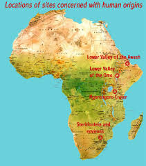 africa map great rift valley human origins world heritage