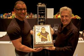 acclaimed chef robert irvine and tv personality and producer marc