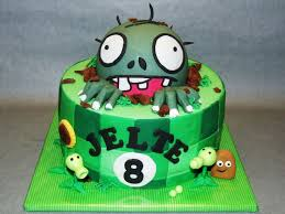 Plants Vs Zombies Cake Decorations Best 25 Zombie Birthday Cakes Ideas On Pinterest Zombie