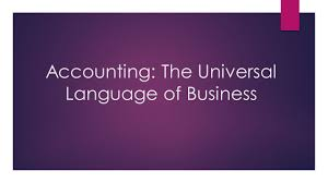 accounting the universal language of business ppt video online