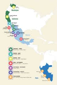 Central Mexico Map by Progressive Produce Year Round Asparagus