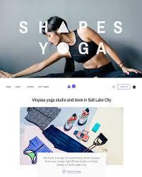 dark theme local ecommerce website template