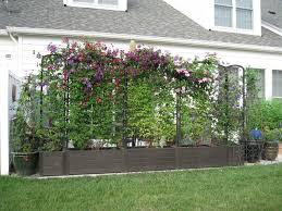 trellis planter wooden u2013 outdoor decorations