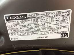 lexus used warranty used 2017 lexus ct 200h fwd 4dr hybrid 4 door car in edmonton ab