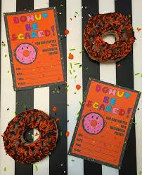 halloween fiesta donut halloween party invites free printable