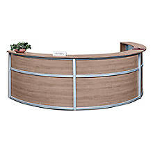 Rounded Reception Desk Reception Desks W Savings You Ll Officefurniture