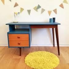 le bureau retro vintage desk mid century modern scandinavian by chouettefabrique a