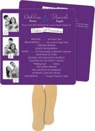 purple wedding programs shop purple wedding programs magnetstreet