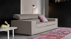 Modern Sofa Chicago by Divani Chicago Light Gray Leather Sofa Living Roommodern Living