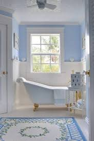nautical bathroom designs blue nautical bathroom design ideas with wainscoting and clawfoot