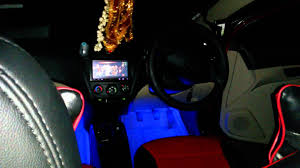 Car Modifications Interior Hyundai Eon Modified My Car Youtube