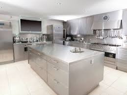 soothing wood in stainless steel kitchen island stainless steel