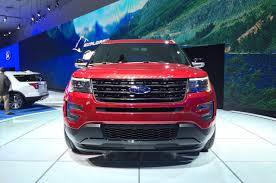 Ford Explorer 2016 - 2014 la 2016 ford explorer gets 2 3l ecoboost and platinum series