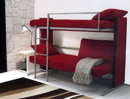 convertible futon bunk bed the accent