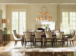 Furniture Dining Room Tables Tower Place Drake Oval Dining Table Lexington Home Brands