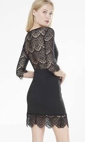 6 lace mini dresses
