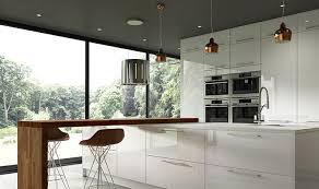 white gloss kitchen doors wickes esker contempory kitchen range kitchen refurbishment