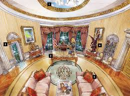 trumps home in trump tower cherubs marble and louis xiv what donald trump s oval office might