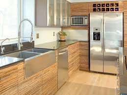 modern kitchen with oak cabinets tags cool contemporary kitchen