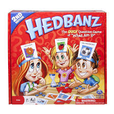 Dinner Party Question Games - amazon com hedbanz game edition may vary toys u0026 games