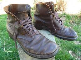 s shoes and boots size 9 1950 s unknown brand 6 work boots brown leather us size