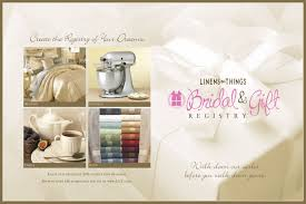 bridal registry linens n things lnt bridal registry ads mercer design