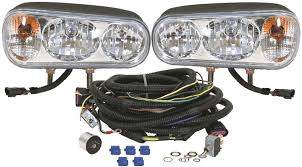 wiring snow plow lights buyers universal snow plow light kit foxtail lights