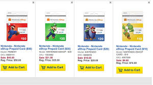 nintendo prepaid card get 10 nintendo eshop cards at best buy today the tanooki