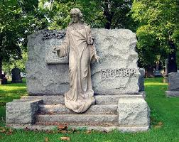 cemetery statues statue detail picture of bohemian national cemetery chicago