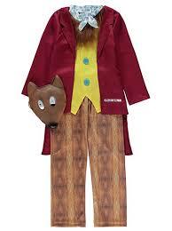 Fantastic Fox Halloween Costume Roald Dahl Fantastic Fox Fancy Dress Costume Kids George