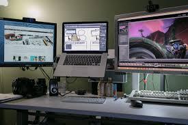 Pc Desk Setup Dave Seah S Mac And Setup The Sweet Setup