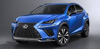 lexus rx blue 2017 lexus nx facelift debuts with active safety systems improved