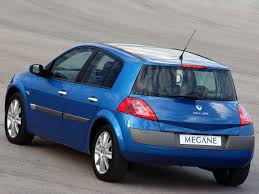 renault megane cars specifications technical data