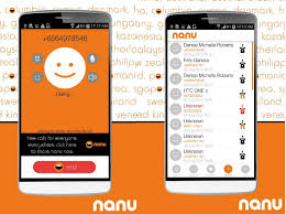 free calling apps for android nanu android app with free worldwide calling facility to mobiles