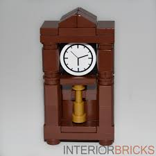 German Grandfather Clocks Custom Lego Furniture Grandfather Clock Parts U0026 Instructions