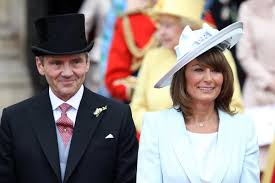 who are kate and pippa middleton u0027s parents michael and carole