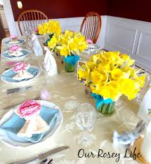 easter brunch table decoration how to create a spring table