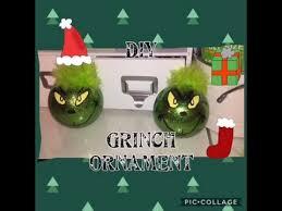 diy grinch ornament