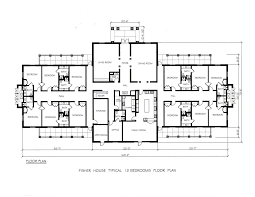 Fisher House Floor Plan Fisher House Typical Bedrooms Leader Architecture