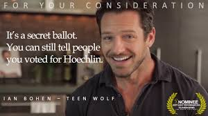 Ina Wiki Image Ian Bohen Peter Hale Saturn Awards Nominee For Your