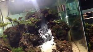 aquascape waterfall low cost youtube