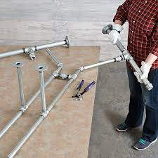galvanized pipe table legs pipe frame harvest table