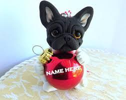 bulldog ornament etsy
