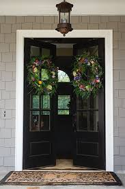 Black Front Door Ideas Pictures Remodel And Decor by Best 25 Double Doors Exterior Ideas On Pinterest Double Entry