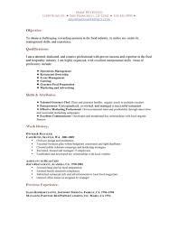 cover letter resume for waitress position resume cover letter for