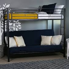 High Sleeper With Futon Futon Metal High Sleeper Bed With Desk And Futon Metal
